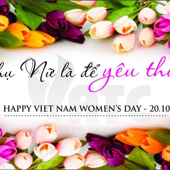 VATC Chào Mừng Ngày Phụ Nữ Việt Nam 20/10