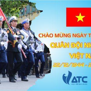 Trung tâm huấn luyện kỹ thuật ô tô Việt Nam chào mừng 72 năm ngày thành lập quân đội nhân dân Việt Nam